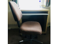 House clearance: Computer desk with chair, storage cabinet, Sky HD boxes