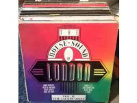 Oldskool House - 64pcs Vinyl 12'' / Late 80's early 90's (full list in description)