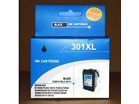 Printer Ink Cartridge 301XL Black Chip Reset Compatible HP Deskjet 2050