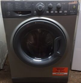 11 Hotpoint WDAL9640 9+6kg 1400 Spin Silver Sensor Dry Washer/Dryer 1 YEAR GUARANTEE FREE DEL N FIT