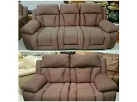 3 & 2 seater electric recliners in nearly as new condition