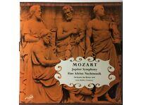 MOZART Jupiter Symphony / Eine kleine Nachtmusik 12 inch VINYL