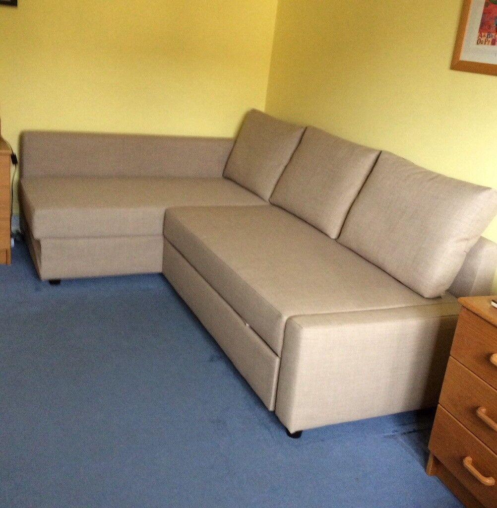 Ikea Corner Sofa Bed With Chaise Longue Friheten In County