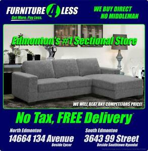 SECTIONALS & SOFAS-CLICK IMAGE FOR MORE STYLES/DEALS. CALL 587.460.7424