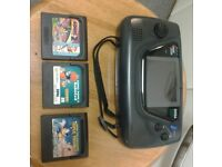 Sega Game Gear + games - Retro Gaming , vintage , not , ps3 , xbox 1 , xbox one , ps4 , gaming