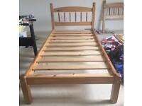 Pine wooden bed frames