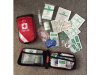 Travel First Aid Kits & Keyring CPR Face Shields