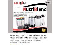 Brand new nutriblend 21 piece set