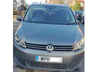 VW-Touran 1.6 TDI, 2011 reg., Manuel, 7 seats, Grey, 160000 miles, Super condition.