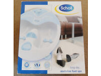 Scholl Revitalize Foot Spa & Extras