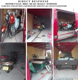 Bike Collection Scooter Delivery Quad Recover Same day Bike Collection & Delivery Service Cheap Move