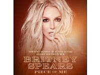 Britney Spears x2 tickets 24.08.18. Sold out Tour. Grab a bargain. Selling less than face value.