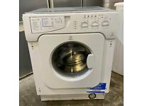 Indesit IWME146 Nice Integrated Washing Machine with Local Free Delivery