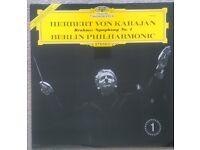 Herbert von Karajan - Brahms - Berlin Philharmonic – Symphony No. 1 - Classical LP Vinyl Record.