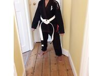 Vector Brazillian Jiu Jitsu Kimono & Trousers
