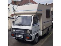 Bedford Bambi Rascal Motorhome, Campervan, Low Mileage, Recent NEW MOT