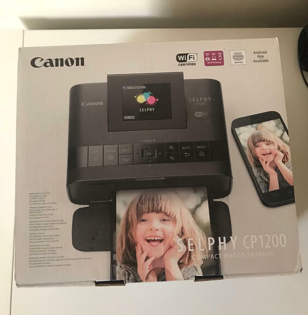 Canon Selphy CP1200 mobile printer   in Hoyland, South Yorkshire   Gumtree