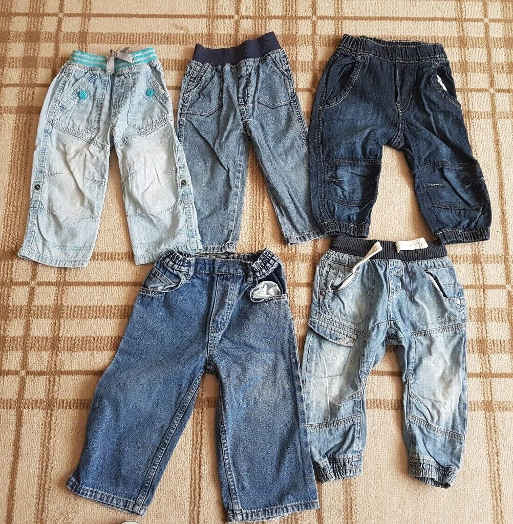 12 to 18 months jeans £8 for all