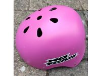 Girl's bicycle\skates\skateboard helmet