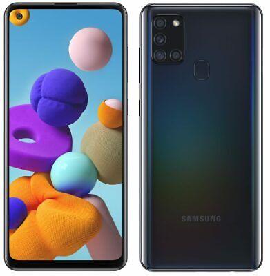 SAMSUNG GALAXY A21S 64GB+4GB RAM SMARTPHONE TELÉFONO MÓVIL LIBRE NEGRO 4G A217