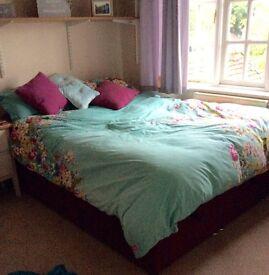 Double Ottoman Bed & matress