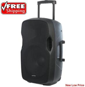 Gemini AS-15TOGO Rechargeable 15 Active Portable Bluetooth loudspeaker
