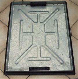 Patio Drain Cover, Manhole Cover, 600 (L) x 530 (W)