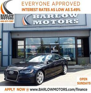 2013 Audi A6 2.0T S LINE**AMVIC INSPECTION & CAPROOF PROVIDED