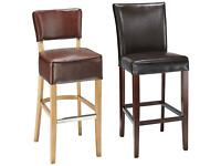 COMMERCIAL REAL LEATHER BAR STOOLS REDUCED TO £60 EACH!!