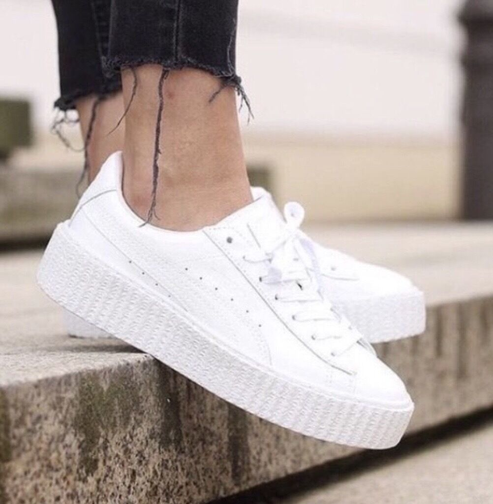 puma rihanna creepers london
