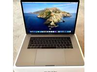 """MACBOOK PRO 15"""" MPTR2BA 2017 HIGH SPEC TOUCH BAR MODEL, SPACE GREY BOXED IN PRISTINE CONDITION"""