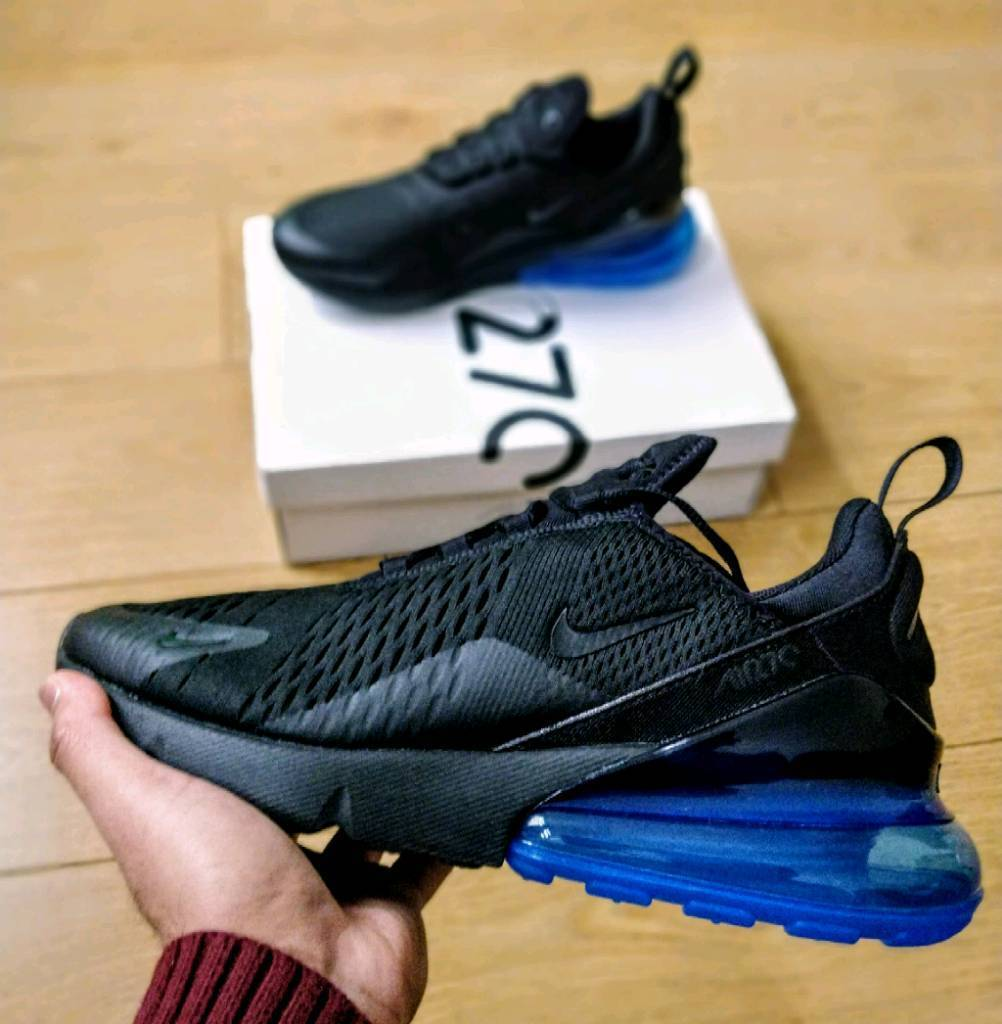 nike air max 270 foto blu a leicester, leicestershire gumtree