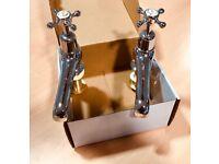 Burlington Claremont Bath Tap - Deck Mounted