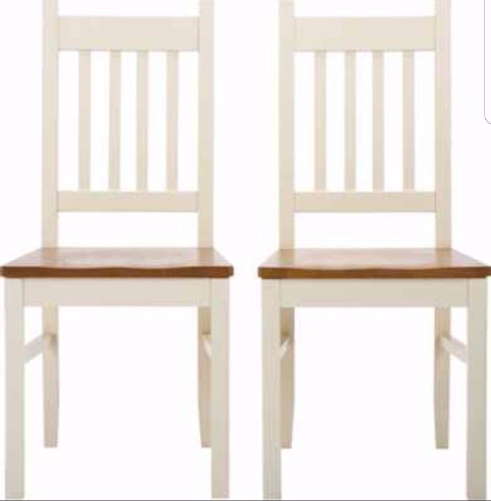 4 New Chiltern Solid Wood Chairs FREE DELIVERY 512
