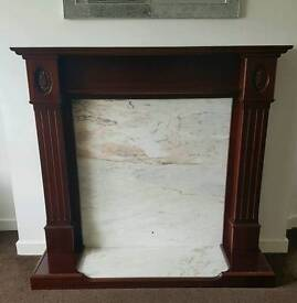 Marble Fireplace Need Gone!