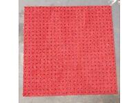 "88 Carpet Tiles Hard Wearing 20"" x 20"" Good Condition £30.00 ono"