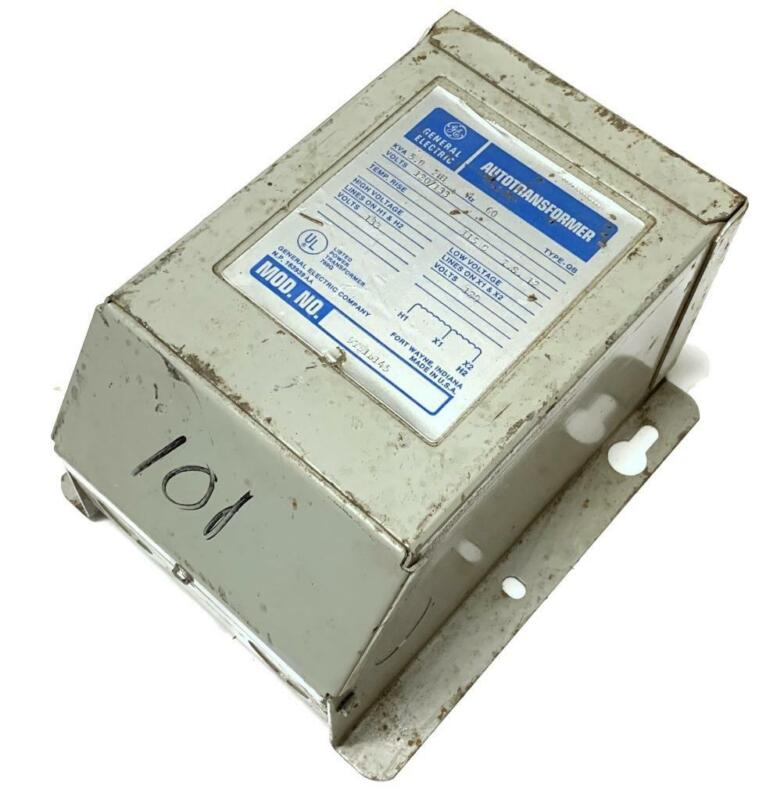 General Electric GE 9T51B145 Autotransformer 5.0 KVA 120/133 Volts 1 Phase