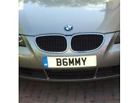 Private number plate B6MMY