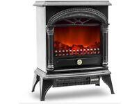 Electric fire NEW IN BOX freestanding stove type