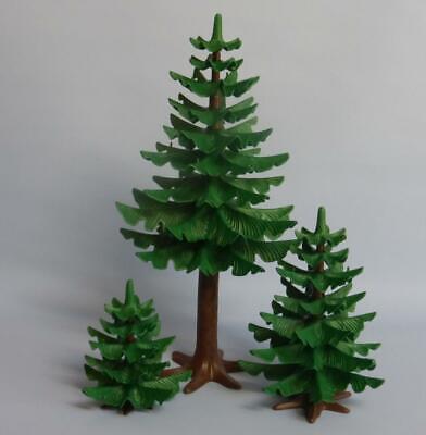 Playmobil Forest Pine / Fir Tree (s) Redwood Three - house park farm castle NEW