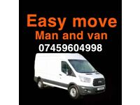Man and van service available 24/7 cheap quotes