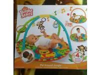 Musical baby play mat