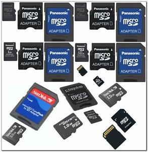 Scan Disk Memory Cards, 256, 128, 64, 32mb & 2G & 4G & M2 & 8 GB