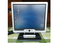 DigiMate L-1916 TFT 19 Inch LCD Monitor with Built-In Speakers and Stand