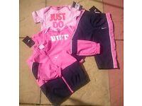 Girls Nike tracksuit 18-24mths
