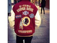 """NFL Redskin Super Bowl jacket """"rare"""""""