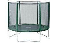 Plum 8ft Trampoline with enclosure