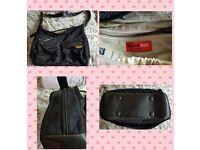 Storksak Baby Changing Bag + Changing Mat + Zip Case