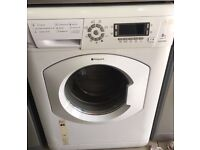 HOTPOINT Ultima 8kg white washing machine 1400 spin £120 free delivery & installation