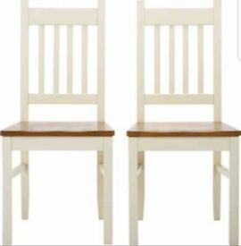 4 New Solid Wood Chairs FREE DELIVERY 005